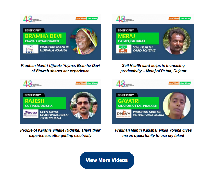 MyGov Email Teardown - Optimised Voice of India Section