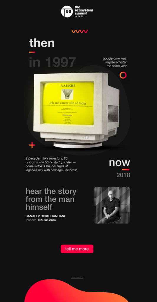 Email 2 - Naukri Infoedge Nostalgia
